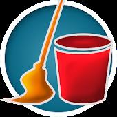 icono limpieza casa organizador