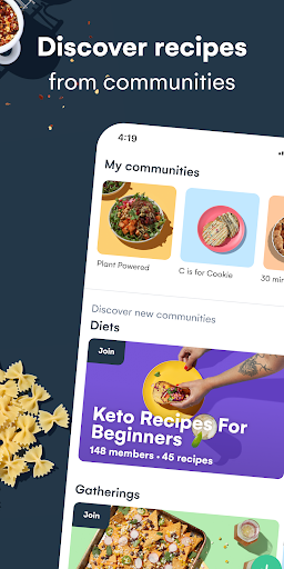 Whisk: Recipe Saver, Meal Planner & Grocery List 1.6.1 screenshots 1