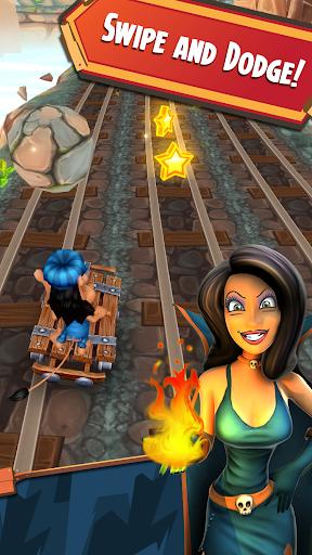 Hugo Troll Race 2: The Daring Rail Rush apktreat screenshots 2