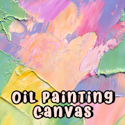 Beautiful Wallpaper Oil Painting Canvas Theme