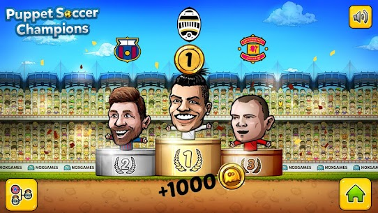 Puppet Soccer Champions – League MOD (Dumb Bots) 5