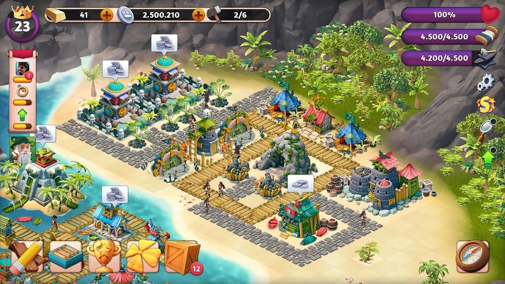 Fantasy Island Sim: Fun Forest Adventure  poster 0