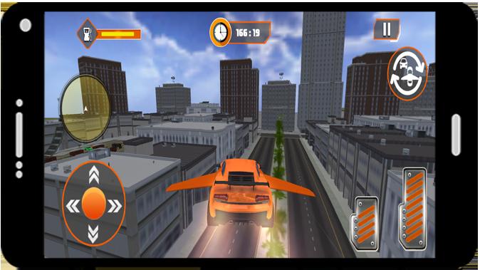 Flying Car Modern Simulator 2021 screenshot 3