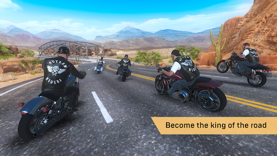 Outlaw Riders: War of Bikers 0.1.4 1