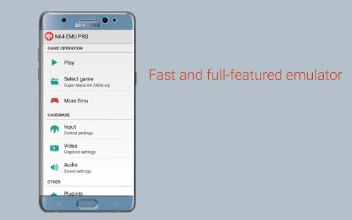 N64 Emulator Pro 23 Screenshots 1