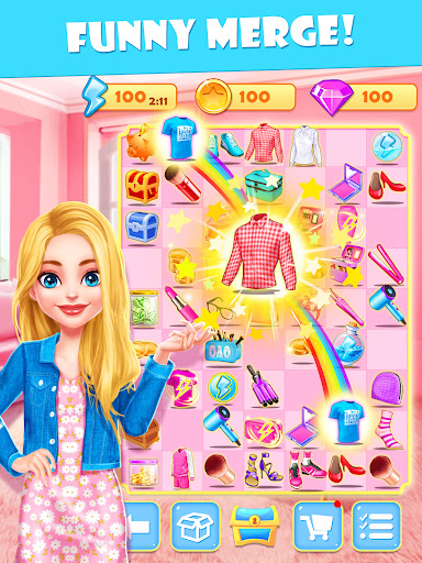 Merge Makeover: Makeup Games for Girls Kids  Pc-softi 3