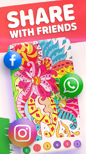 Magic Color by Number: Free Coloring game 1.6.5 screenshots 5