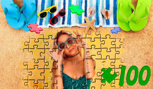 girl's puzzles (100 details) screenshot 1
