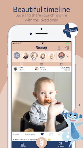 Kidday u2013 mobile baby book 1.79.0 Screenshots 1