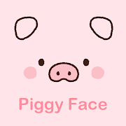 Cute Wallpaper Piggy Face Theme
