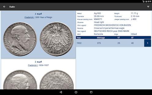German Empire's silver coins