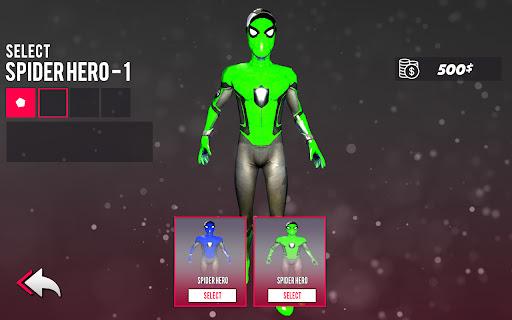 Spider hero game - mutant rope man fighting games  screenshots 14