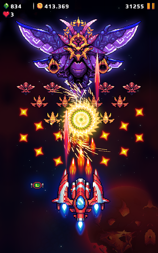 Falcon Squad: Galaxy Attack - Free shooting games Apkfinish screenshots 10