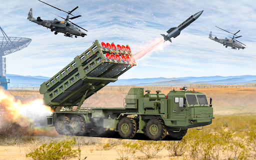 US Army Rocket Missile Games Apkfinish screenshots 1