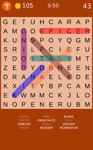 Word Search Puzzles  screenshots 9