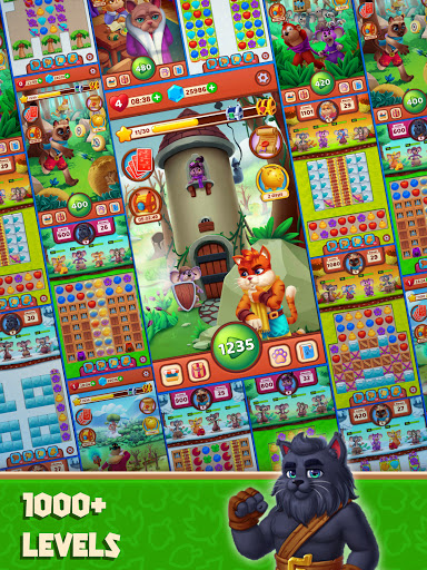 Cat Heroes - Color Match Puzzle Adventure Cat Game  screenshots 12