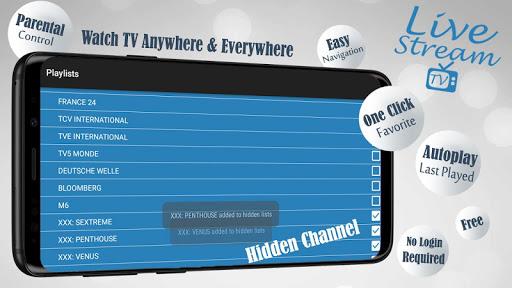 Foto do Livestream TV - M3U Stream Player IPTV
