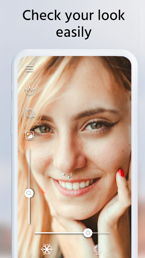 Beauty Mirror - Light Mirror & Makeup Mirror App  screenshots 1