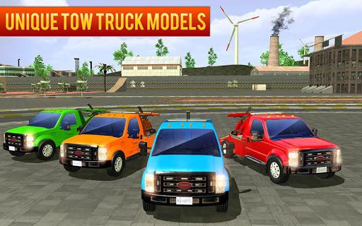 City Tow Truck Car Driving Transporter 3D 1.0.5 screenshots 1
