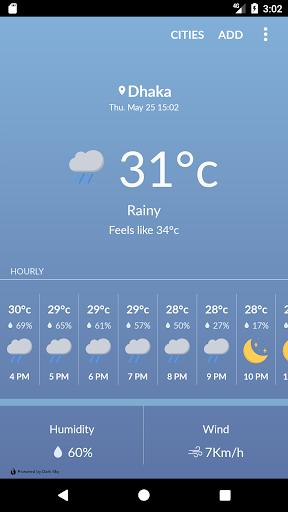 Bangladesh Weather 1.3.2 Screenshots 1