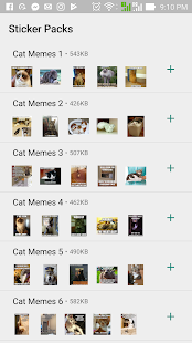Cat Memes Stickers Screenshot