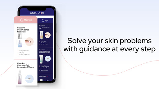 Acne, Pimples, Skin & Hairfall Treatment: CureSkin android2mod screenshots 5