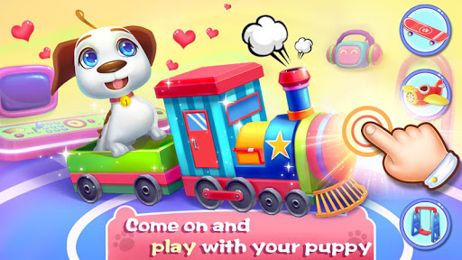 🐶🐶Space Puppy - Feeding & Raising Game apktreat screenshots 1