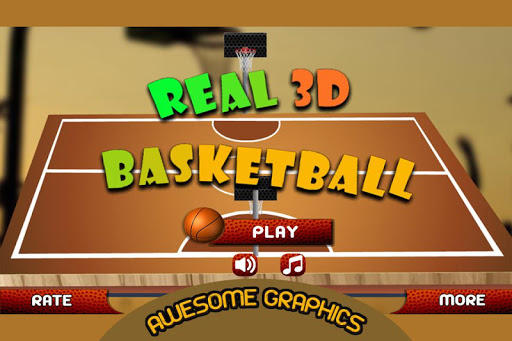 Real 3d Basketball : Full Game 1.8 screenshots 1