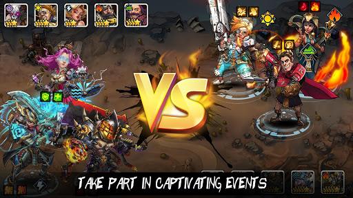 Clone Evolution: Cyber War-Borderlands Fantasy  screenshots 3
