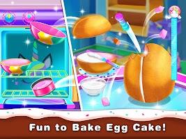 Hatch Egg Cake Maker - Sweet Bakery Food Games