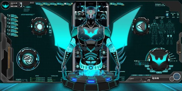 3D Tech Hero Theme For Windows 7/8/10 Pc And Mac | Download & Setup 4