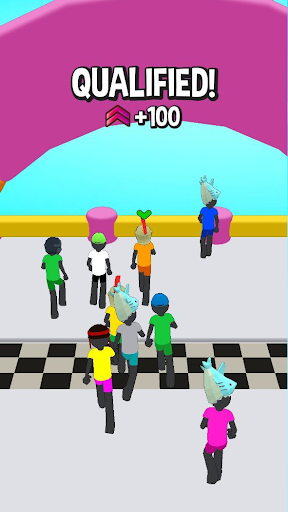Stickman Fall | Running Stick Guys 3D Varies with device screenshots 10