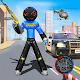 Police Stickman Robot Car Trannsform Hero: Crime per PC Windows