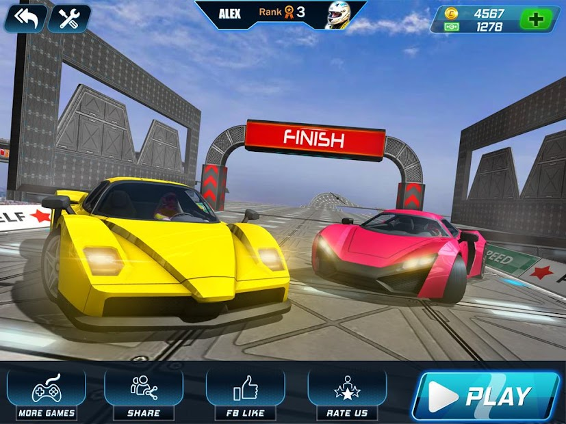 Ramp Car Gear Racing 3D: New Car Game 2021 screenshot 12