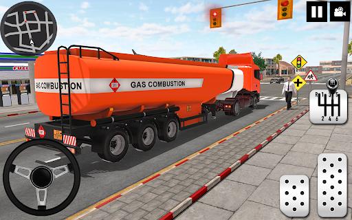 Oil Tanker Truck Driver 3D - Free Truck Games 2020  screenshots 19