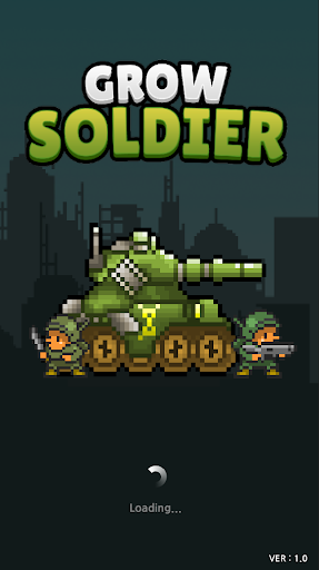 Grow Soldier - Idle Merge game apkmartins screenshots 1