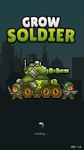 Grow Soldier - Idle Merge game 3.7.0 screenshots 1