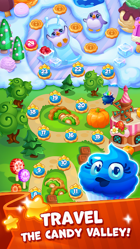 Candy Valley - Match 3 Puzzle Apk 1