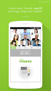moyeee - Brand New Style Visual Chat & Meeting App