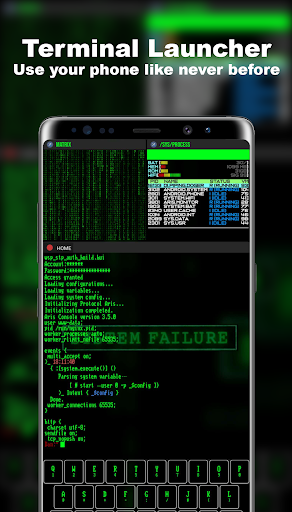 Terminal Launcher -- Aris Hacker Theme 3.8.8 screenshots 1