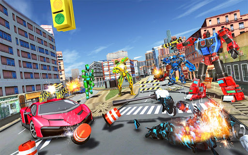 Tank Robot Car Game 2020 u2013 Robot Dinosaur Games 3d screenshots 7