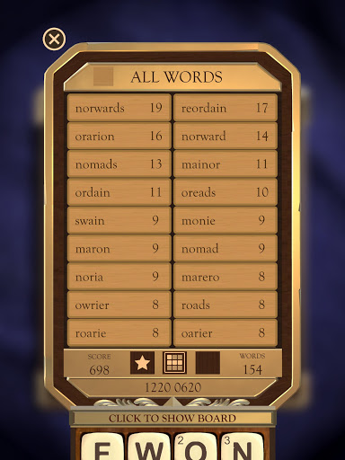 Wordbox: Boggle Word Match Game (Free and Simple) 0.1822 screenshots 19