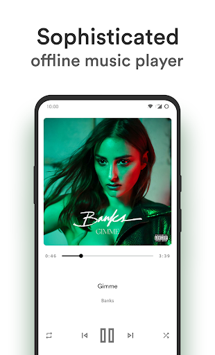 Music Player - MP3 Player - Retro 4.0.010_1012202056 Screenshots 4