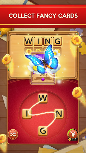 Word Card: Fun Collect Game  screenshots 1