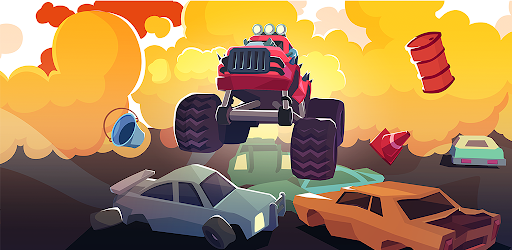 Smash racing: drive from cops, make an epic crash! Versi 6.7.7