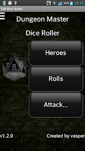 Dungeon Master Dice Roller For Pc   How To Install – Free Download Apk For Windows 1