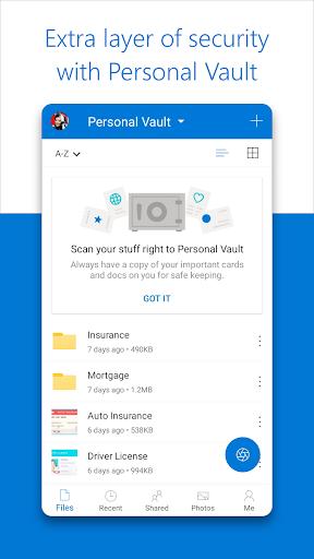 Microsoft OneDrive screenshots 5