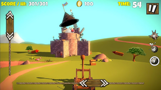Catapult Shooter 3Dud83dudca5: Revenge of the Angry Kingud83dudc51 apkpoly screenshots 23