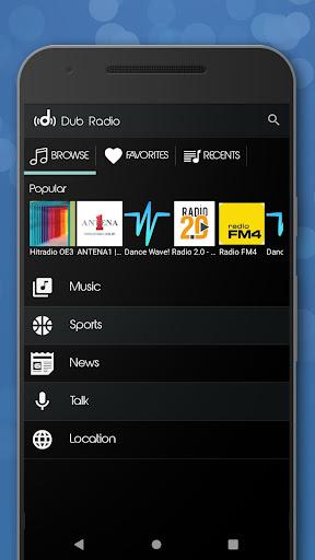 Dub Radio - Online fm radio tuner + equalizer android2mod screenshots 8