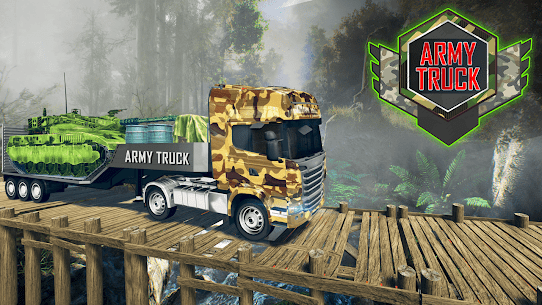 Army Truck Driving Simulator Game-Truck Games 2021 2